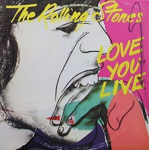 "Andy WARHOL, ""ROLLING STONES - Love You Live"""