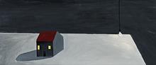Noel MCKENNA - Painting - House on Table