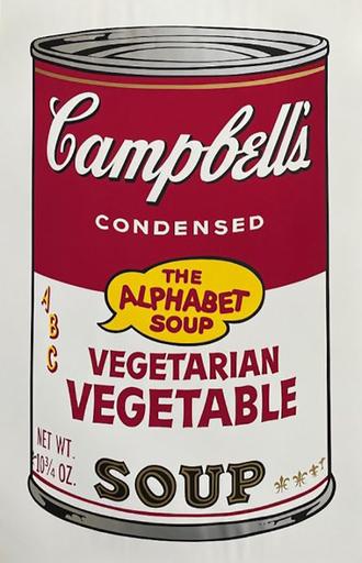 Andy WARHOL - Print-Multiple - Campbell's Soup II: Vegetarian Vegetable