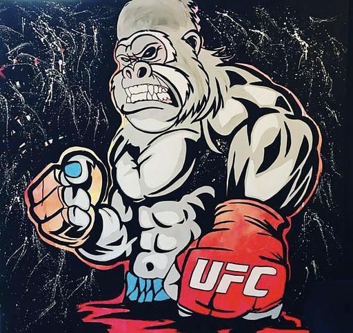 CLEMS - Gemälde - UFC Kong