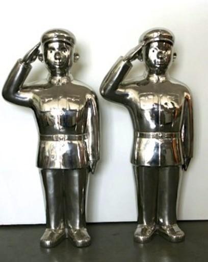 SHEN Jingdong - Sculpture-Volume - Salute
