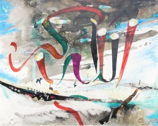 Rasim BABAYEV - Pintura - ABSTRACTION