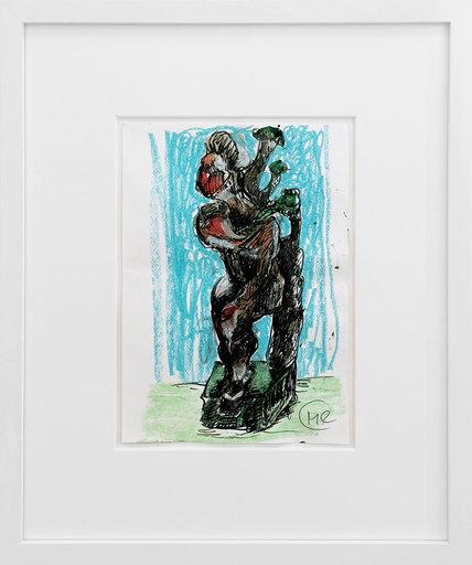 Markus LÜPERTZ - Pintura - Daphne