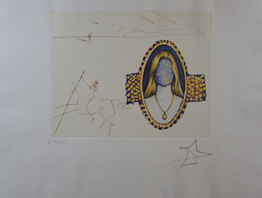 Salvador DALI - Stampa-Multiplo - The Cycles of Life Vigor of Youth