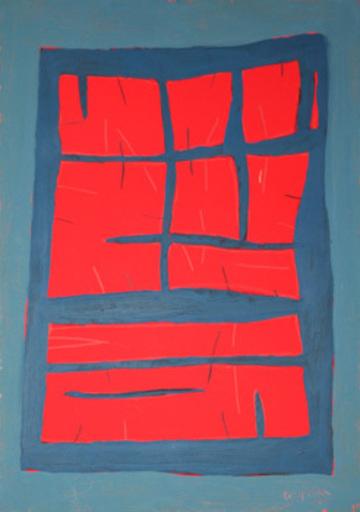 Antonio CORPORA - Gemälde - Senza titolo