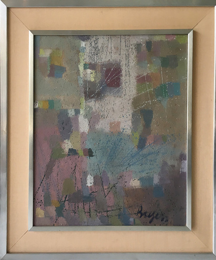 Camille BRYEN - Peinture - Abstract Composition