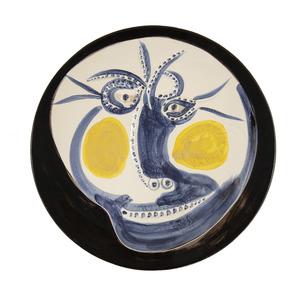 Pablo PICASSO - Ceramic - Visage 60