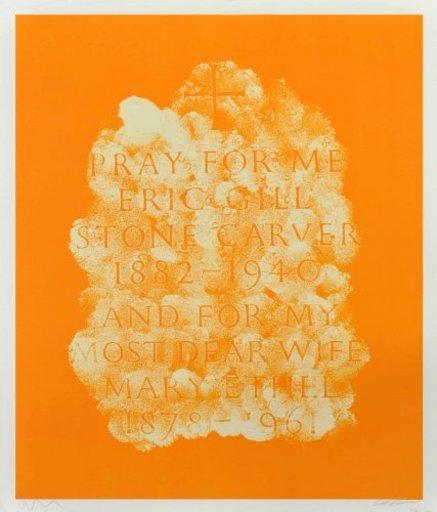 Scott MYLES - Print-Multiple - A History of Type Design / Eric Gill, 1882-1940 (Speen, Engl