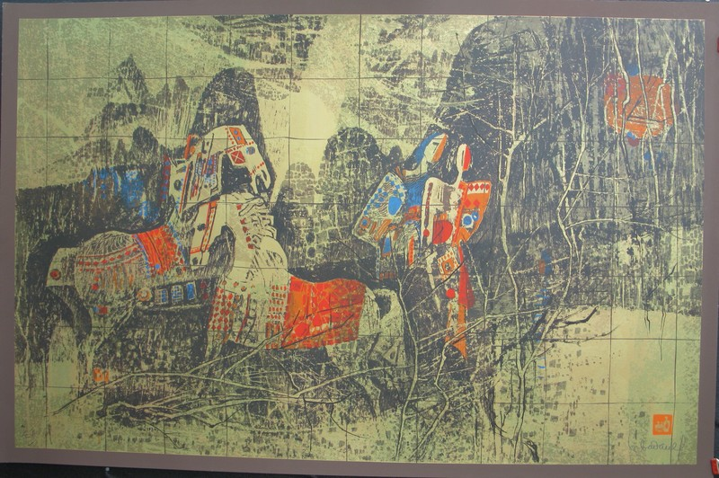 Dang LEBADANG - Print-Multiple - Horses