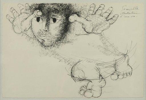 Roger SOMVILLE - Dibujo Acuarela - Illustration d'une vie