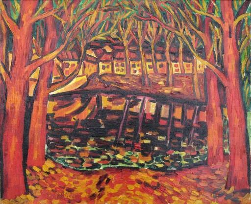 """Sylvain VIGNY - Pintura - """"BORD DE RIVIERE"""""""