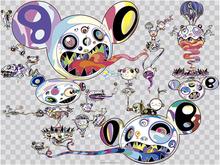 Takashi MURAKAMI - Estampe-Multiple - Hands Clasped