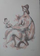 Chaim GROSS - Print-Multiple - *Mother and Child