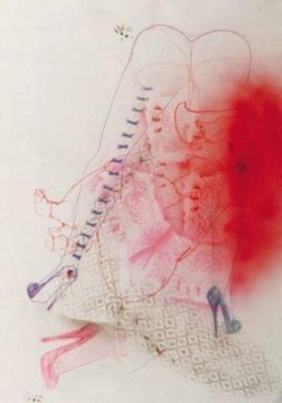 Madeleine BERKHEMER - Zeichnung Aquarell - Diabless IV