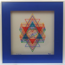 Yaacov AGAM - Print-Multiple - Star of David