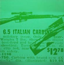 Andy WARHOL - Print-Multiple - Rifle
