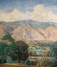 Manuel CABRÉ - Pintura - El Ávila desde el Portachuelo