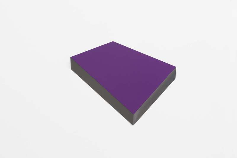 Wolfram ULLRICH - Sculpture-Volume - O.T. (violett - magenta)