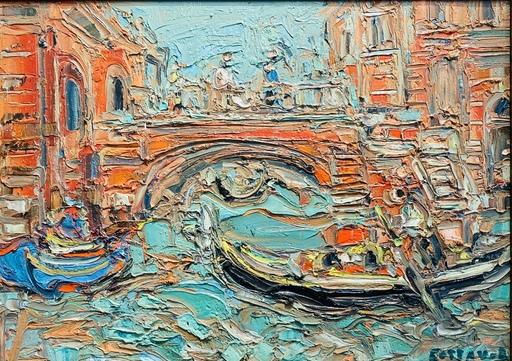 André COTTAVOZ - Painting - Venice
