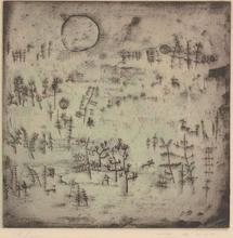 ZAO Wou-Ki - Estampe-Multiple - Paysage au Soleil
