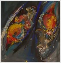 Valérie RUIZ - Pintura - Au cœur de nous même