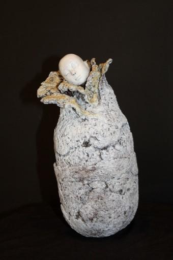 Claude JUSTAMON - Sculpture-Volume - Cocon