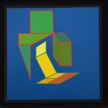 Achille PERILLI - Painting - Il Nulla