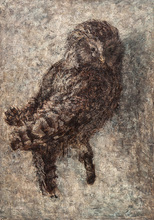 Dmitry PLAVINSKY - Painting - Owl