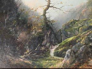 Honore THEVENOT - Painting - Vallée du Chagnon