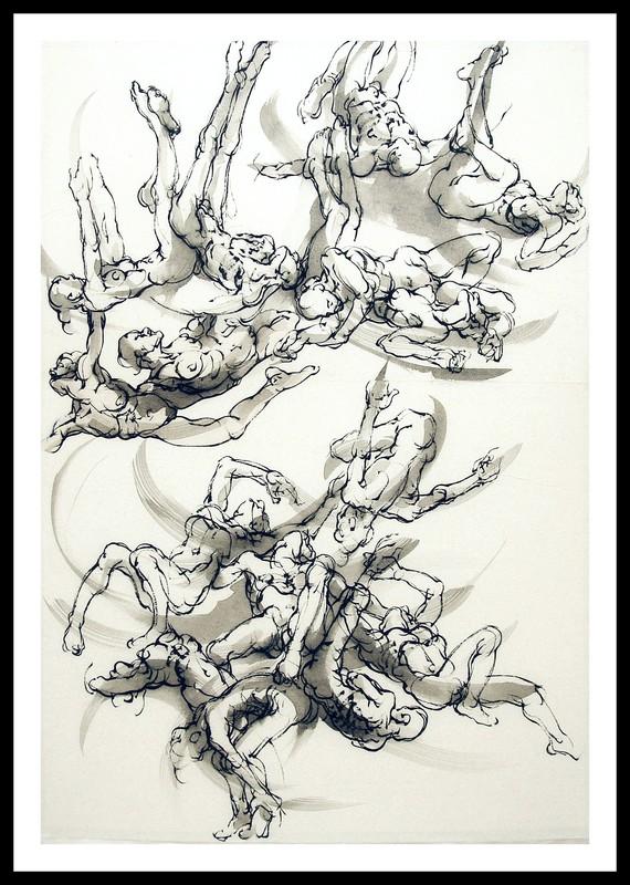 Marie TAKLANTI - Drawing-Watercolor - Sans fond