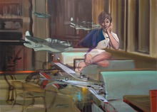 Olivier MASMONTEIL - Painting - Sans Titre