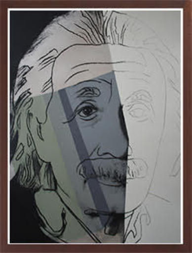 Andy WARHOL - Estampe-Multiple - Albert Einstein