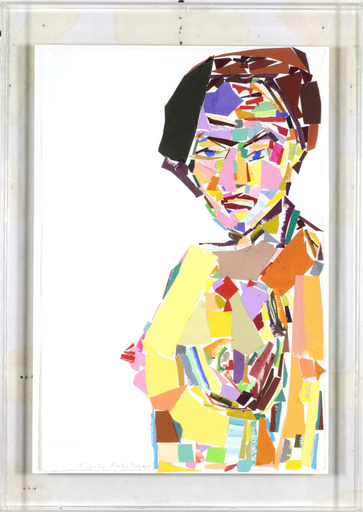 "Martin MALONEY - Peinture - Actress/model ""Cynthia"" #12"
