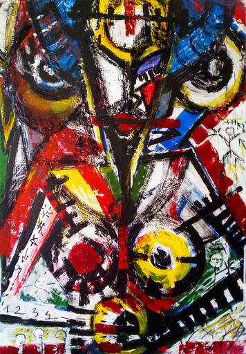 Vesna KRSMANOVIC - Painting - Trio    (Cat N° 4974)