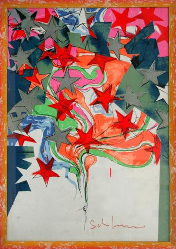 Mario SCHIFANO - Pintura - i Colori della Beat Generation