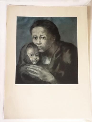 Pablo PICASSO - Druckgrafik-Multiple - Maternidad