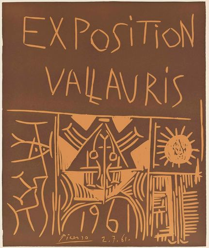 Pablo PICASSO - Print-Multiple - Exposition Vallauris 1961