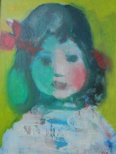 José PALMEIRO - Painting - PORTRAIT - ENFANT - RITRATTO