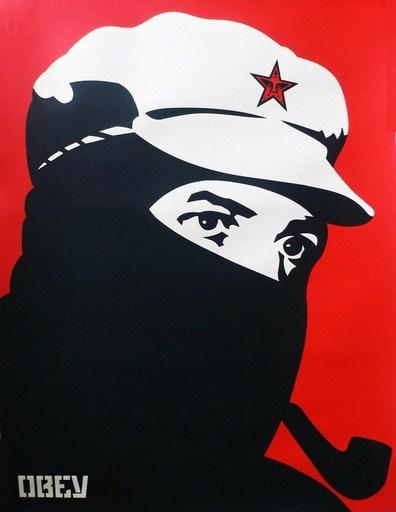 """谢帕德·费瑞 - 版画 - """"Comandante 1"""""""