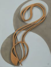 Onno DRÖGE - Sculpture-Volume - One with the waves    (Cat N° 6318)