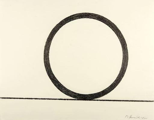 Mauro STACCIOLI - Drawing-Watercolor - Senza titolo