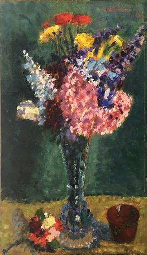 Umberto VITTORINI - Peinture - Vaso di fiori