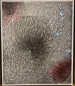 Mario DELUIGI - Gemälde - GRATTAGE