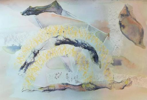 Lorena ULPIANI - Drawing-Watercolor - Essere vento