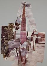 David HOCKNEY (1937) - Telephone Pole, Los Angeles #13