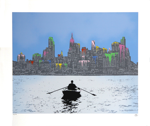 Nick WALKER - Stampa Multiplo - The Morning After: New York
