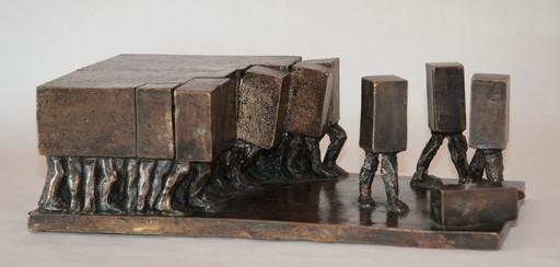 Christian LIGNAIS - Skulptur Volumen - La démantibule
