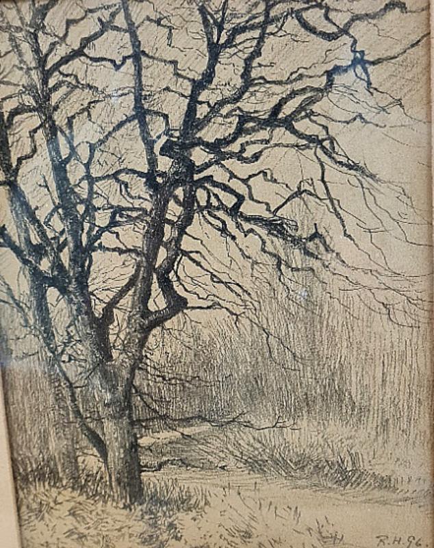Rudolf HÖCKNER - 水彩作品 - Baum