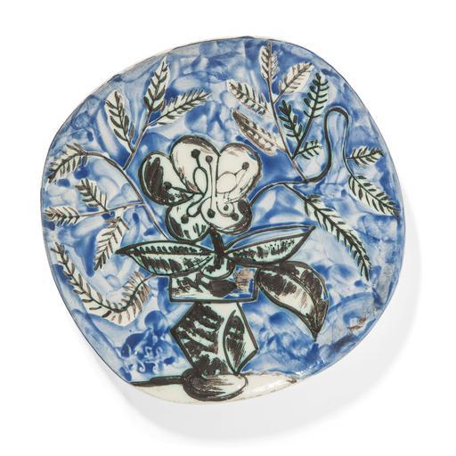 Pablo PICASSO - Ceramic - Vase au bouquet