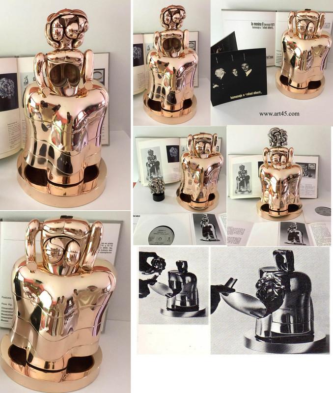 Miguel BERROCAL - Sculpture-Volume - LA MENINA II is a homage by Berrocal to Rafael Alberti.